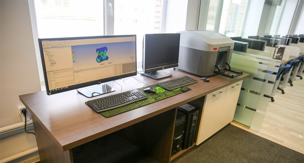 The laboratory of 3D-Simulation and Rapid Prototyping